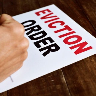 Image demonstrating Council evicts trouble making tenants