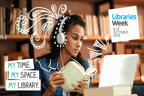 Image demonstrating Discover something new during libraries week