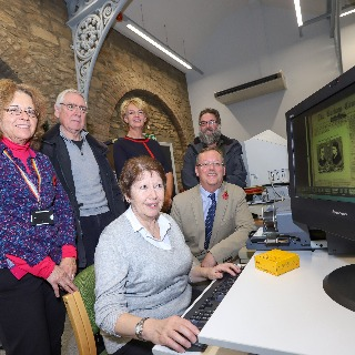 Image demonstrating Hexham library scanner a hit with local history enthusiasts