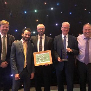 Image demonstrating Community partnership award for Hexham flood scheme