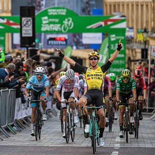 Winner of professional cycle race