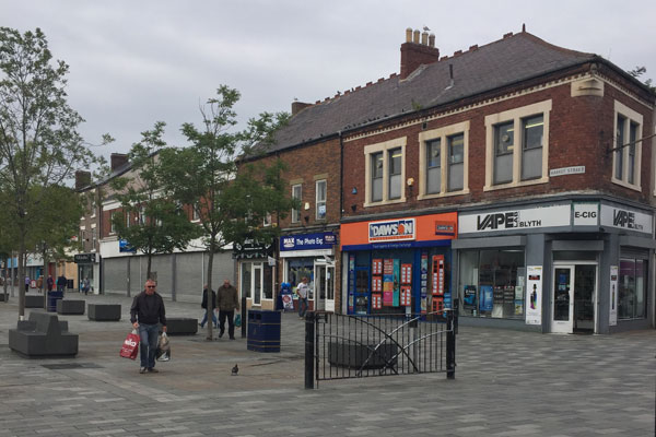 Blyth town centre