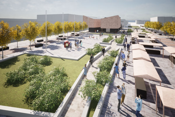 Architect's vision for Blyth Market Place