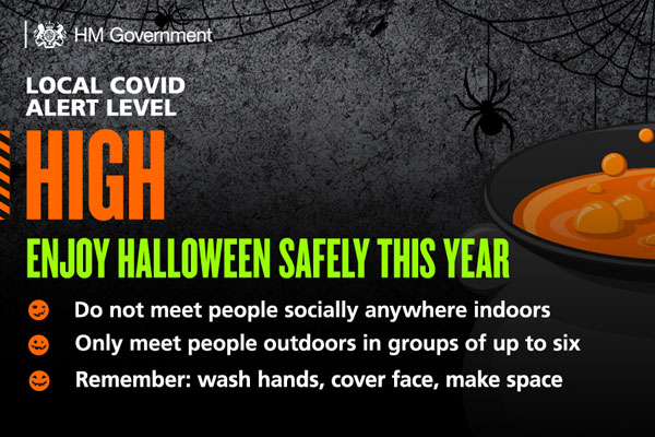 Image demonstrating Families urged to enjoy a safe but spooky Halloween