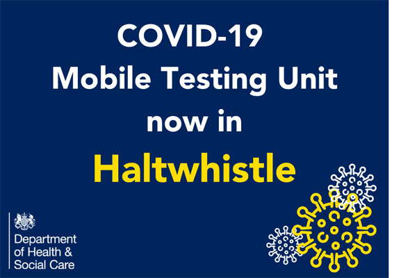 Image demonstrating Further stay for Mobile Testing Unit  in Haltwhistle