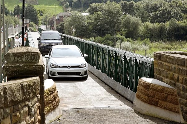 Image demonstrating Ovingham footbridge to be replaced