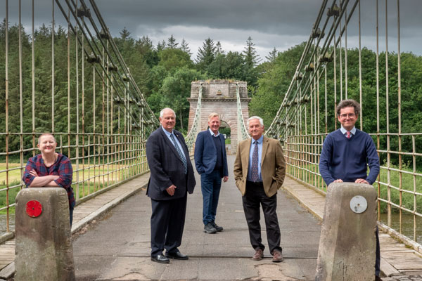 Funding partners at the Union Chain Bridge