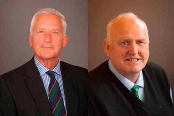 Councillors Glen Sanderson and Richard Dodd