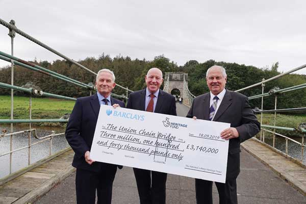 Image demonstrating Lottery funding helps secure future of historic bridge