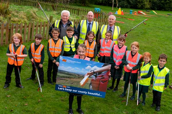 Image demonstrating Litter campaign to celebrate community heroes