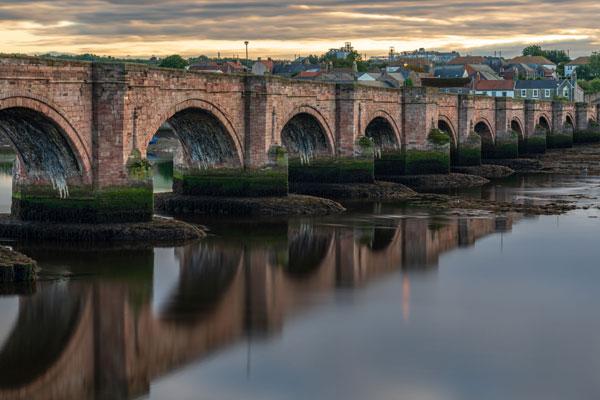 Image demonstrating Berwick Old Bridge re-opens to traffic