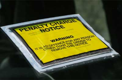 Image showing Penalty charge notices (parking fines)