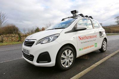 Image showing Parking enforcement vehicle (camera car)