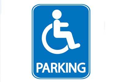 Image showing Disabled parking