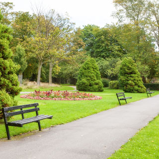 Image showing Hirst Park - Ashington