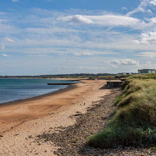 Image showing Blyth & Seaton Sluice links and foreshore