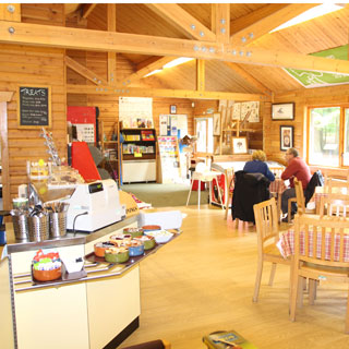 Image showing Cafe and visitor centre