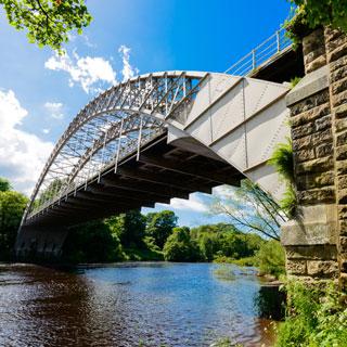 Image showing Hagg Bank Bridge