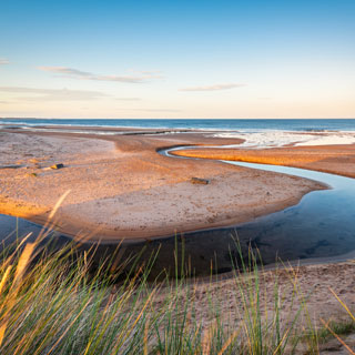 Image showing Druridge Bay Country Park & visitor centre