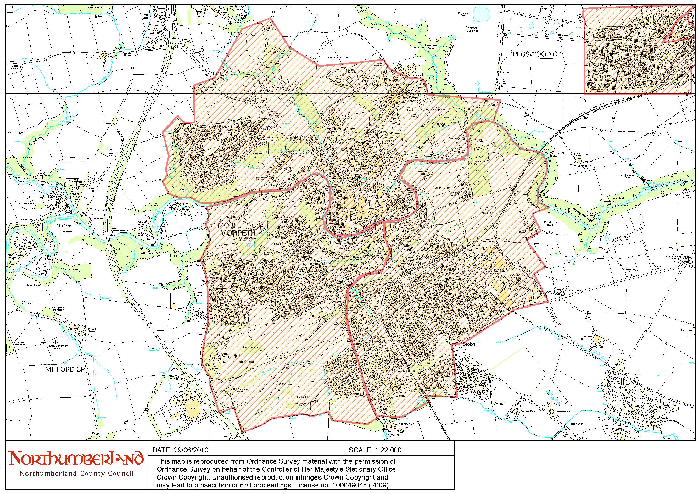 Map Of Smokeless Zones Uk.Northumberland County Council Smoke Control Areas