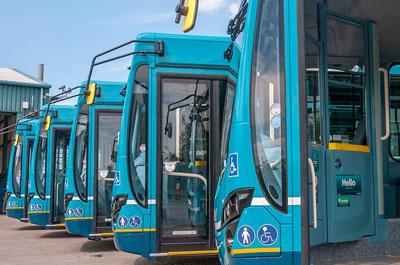 Image showing Bus travel