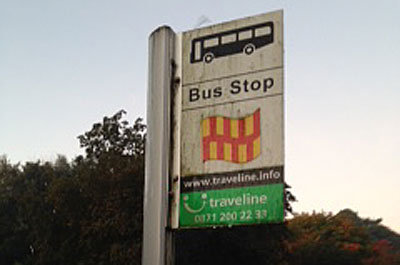 Bus stops & shelters