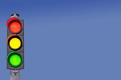 Image showing Street & traffic lights