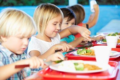 Image showing School meals