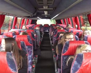 Image showing School transport