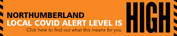 Local COVID Alert Level in Northumberland is HIGH - find out what this means for you here